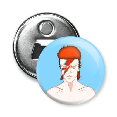 Магнит-открывашка David Bowie