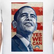 Принт Мужская футболка Stedman, белая