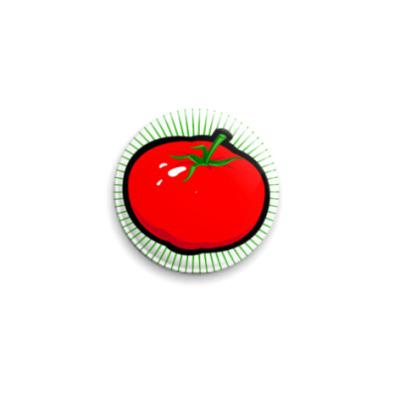 Значок 25мм tomat