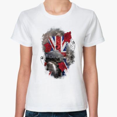Классическая футболка Абстрактный