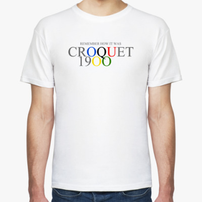 Футболка Croquet at the 1900 Olympics