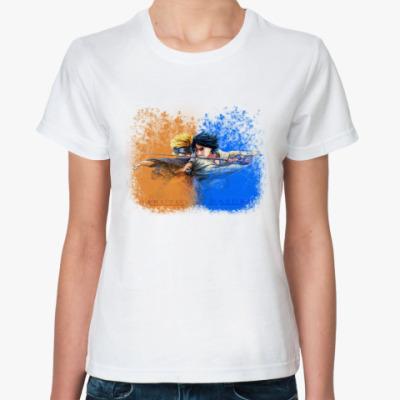 """Классическая футболка  """"Аниме-Наруто""""(жен)"""