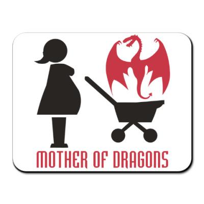 Коврик для мыши Мать драконов