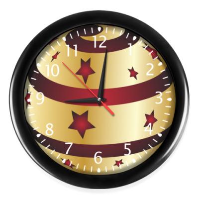Часы Елочное украшение