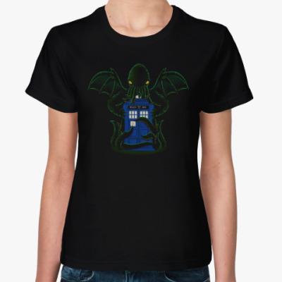 Женская футболка Осьминог