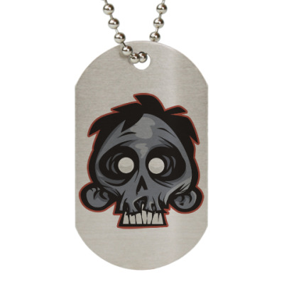 Жетон dog-tag Crazy Monkey