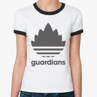 Женская футболка Ringer-T Guardians