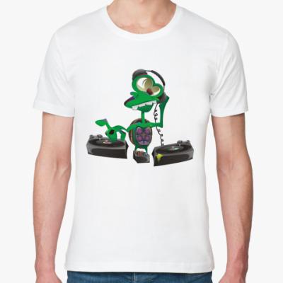Футболка из органик-хлопка DJ Turtle