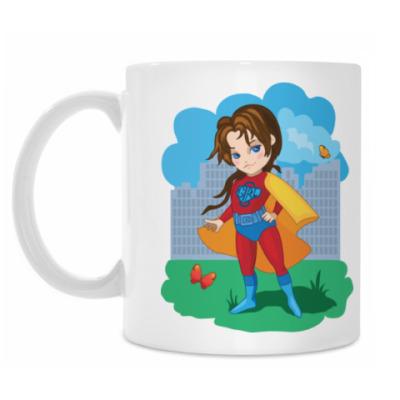 Кружка Супер девочка