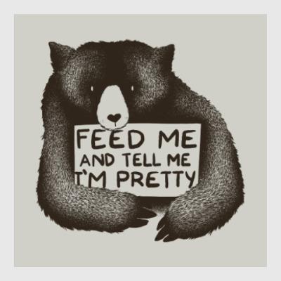 Постер Покорми меня