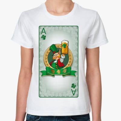 Классическая футболка  St.Patrick's Ace