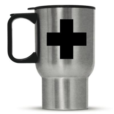 Кружка-термос «Черный Крест»