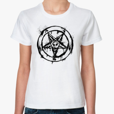 Классическая футболка Пентакль
