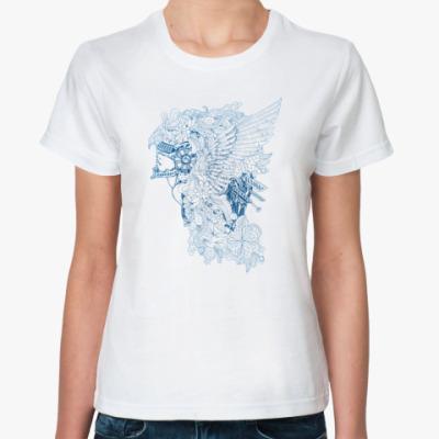 Классическая футболка Летящий воин