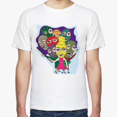 Футболка  футболка Pussy Riot