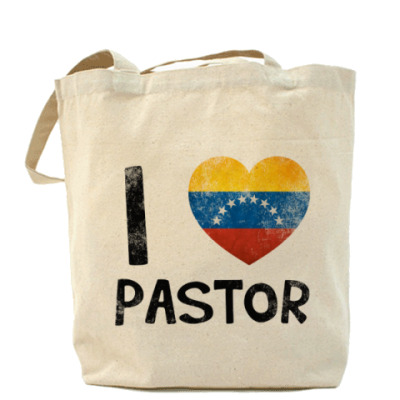 Сумка I LOVE PASTOR