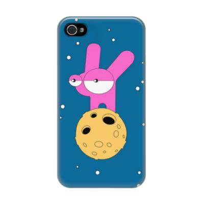 Чехол для iPhone 4/4s Лунные кроличьи настроения