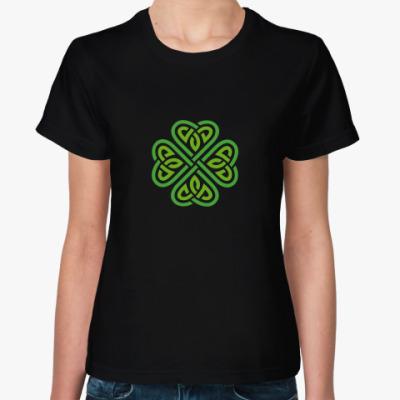 Женская футболка Celtic