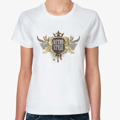 Классическая футболка Retro Style