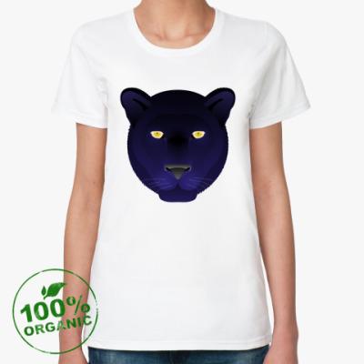 Женская футболка из органик-хлопка Panthera