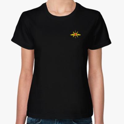 Женская футболка Футболка с эмблемой радиотехнических войск
