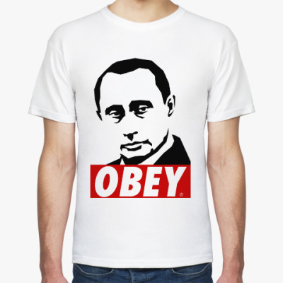 Футболка Путин (Стиль Obey)