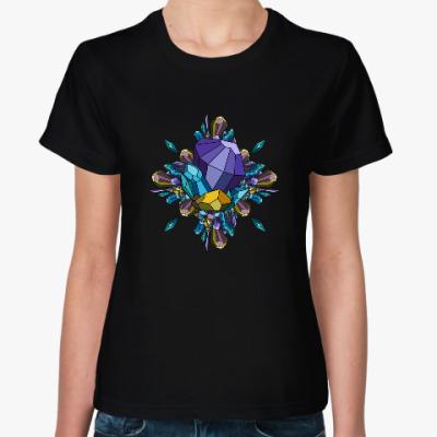 Женская футболка Crystal