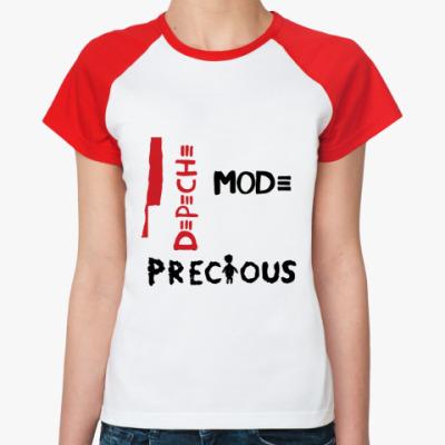 Женская футболка реглан Precious