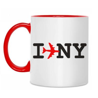 Кружка Люблю Нью-Йорк