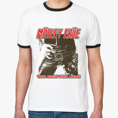 Футболка Ringer-T Motley Crue