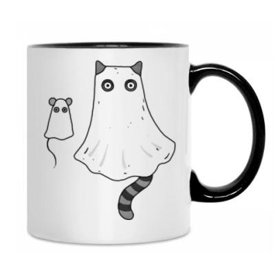 Ночной кошмар - кот и мышь приведения