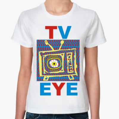 Классическая футболка TV EYE