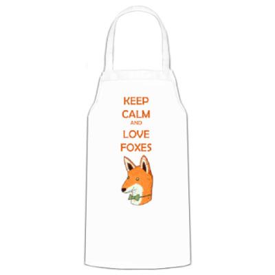 Фартук Любовь к лисичкам