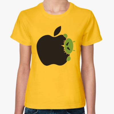 Женская футболка Голодный андроид