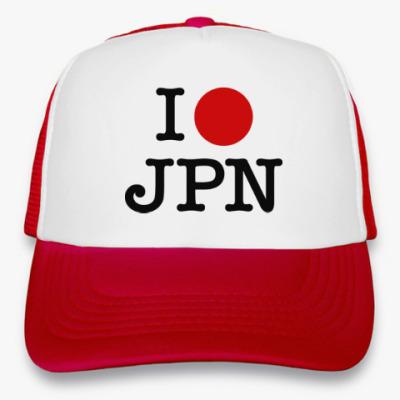 Кепка-тракер I love Japan