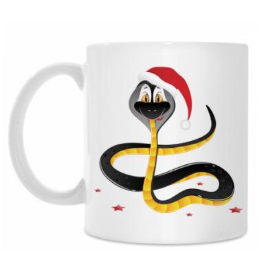 Кружка Год змеи