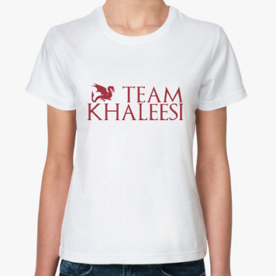 Классическая футболка Команда Кхалиси