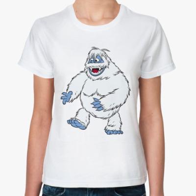 Классическая футболка Снежный человек (ж)