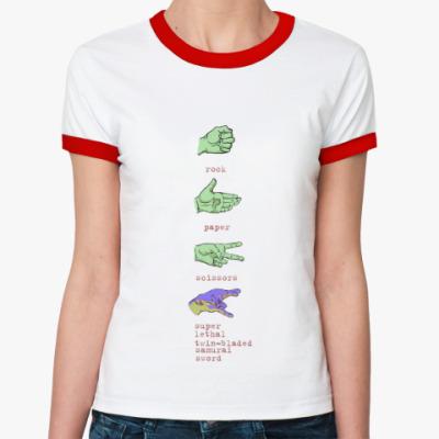 Женская футболка Ringer-T bonus