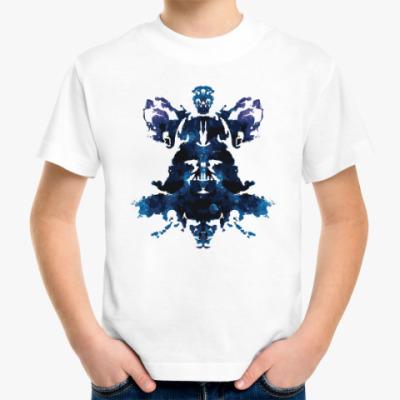 Детская футболка Darth Vader тест Роршаха