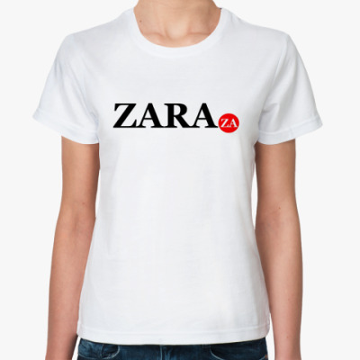 Классическая футболка zara za