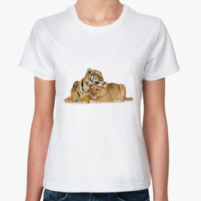 Классическая футболка Тигры