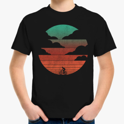 Детская футболка На закате