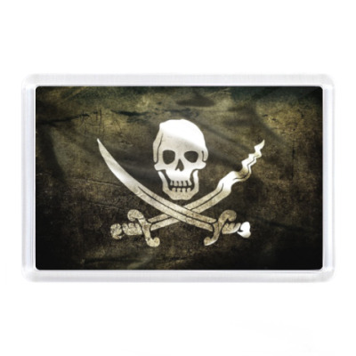 Магнит ик - Пиратский флаг
