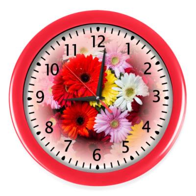 Настенные часы Герберы