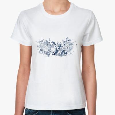 Классическая футболка  'Львица'