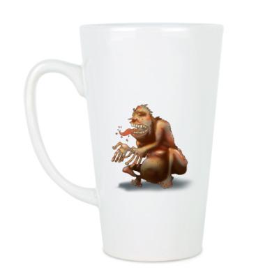Чашка Латте Тролль