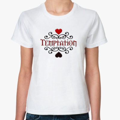 Классическая футболка Temptation