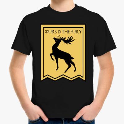 Детская футболка Дом Баратеонов