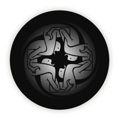 Костер (подставка под кружку) Kasabian